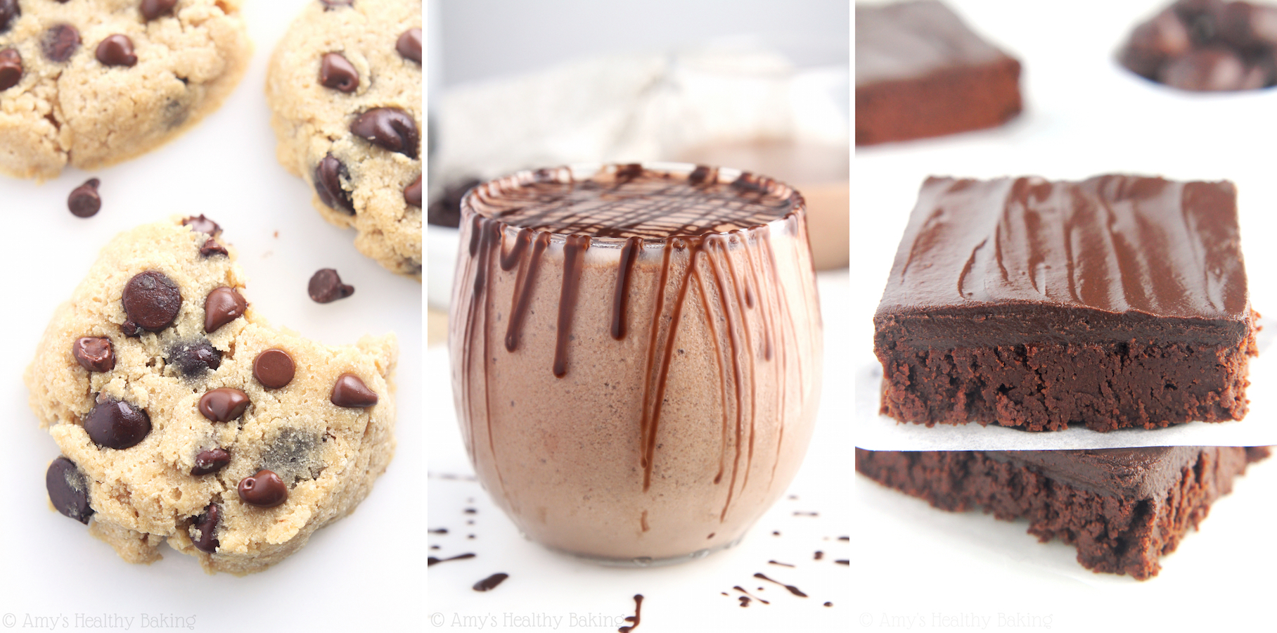 Clean-Eating Chocolate Desserts by Amy's Healthy Baking!