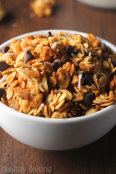 Healthy Almond Joy Granola