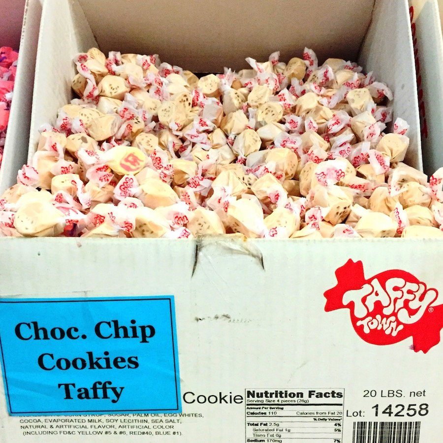 Chocolate Chip Cookies Taffy!