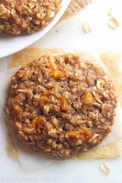 VIDEO: Healthy Peach Pie Oatmeal Cookies