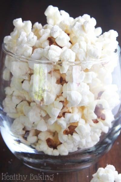 Easy Coconut Oil Popcorn