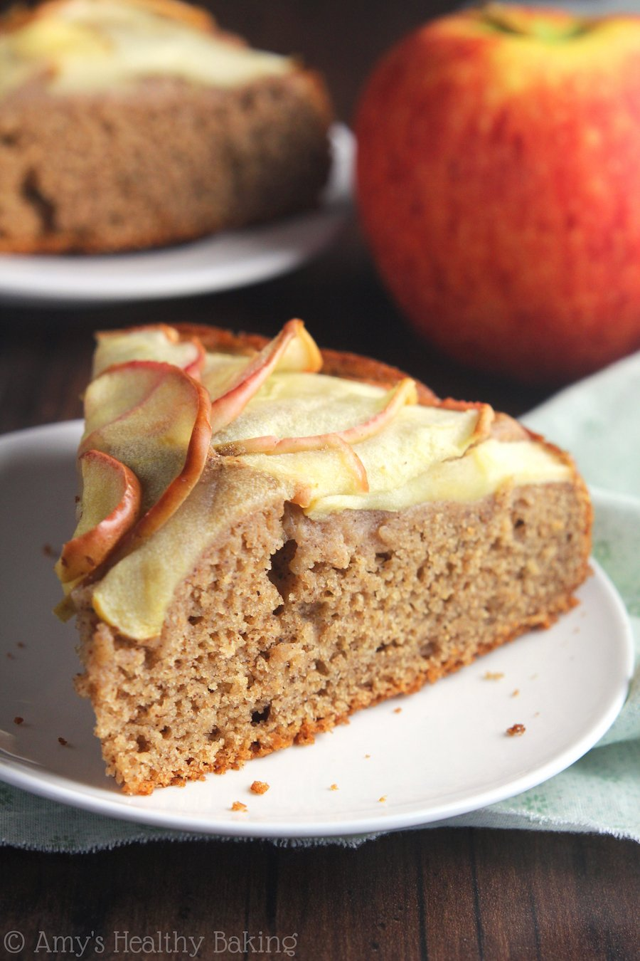 Clean Eating Apple Cake