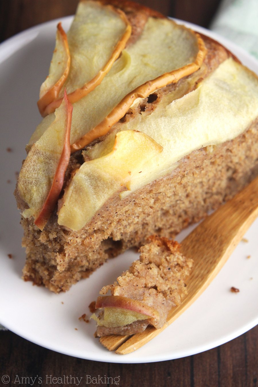 Simple Cinnamon Apple Cake Amys Healthy Baking