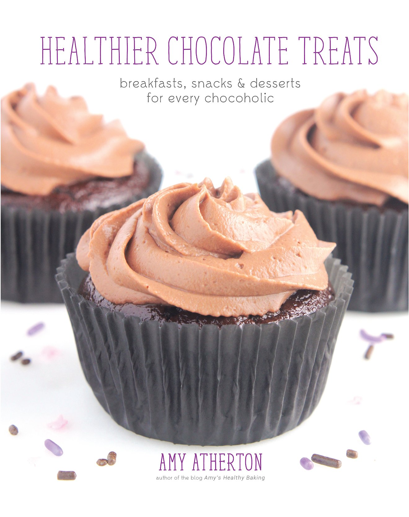 Healthier Chocolate Treats -- 50+ easy, skinny & guilt-free recipes! SO good! I love them ALL!!