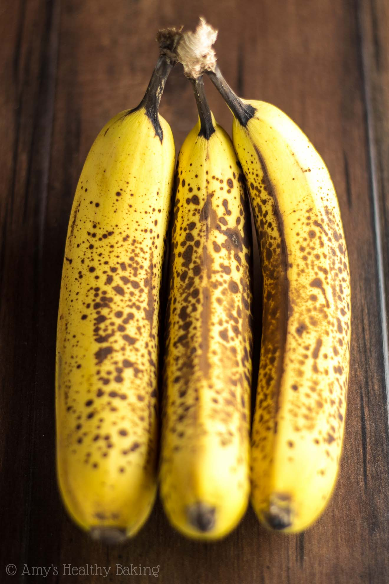 Ripe bananas perfect for baking