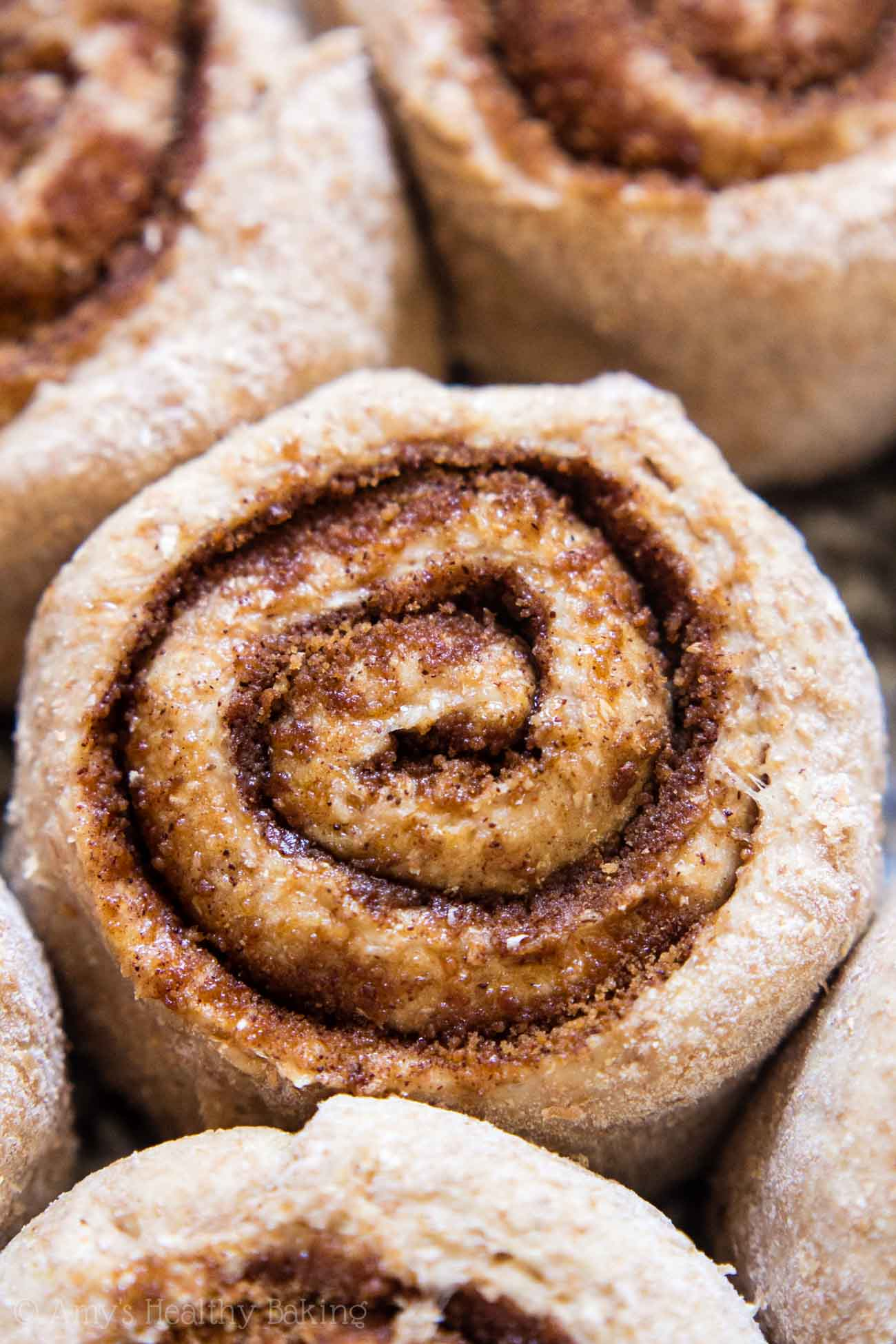 Clean-Eating Classic Cinnamon Rolls -- my family called these the BEST they've ever had! They don't taste healthy at all & they're just 112 calories!