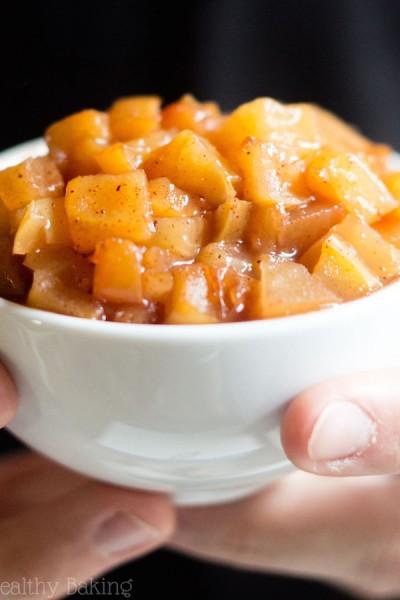 Slow Cooker Apple Pie Filling