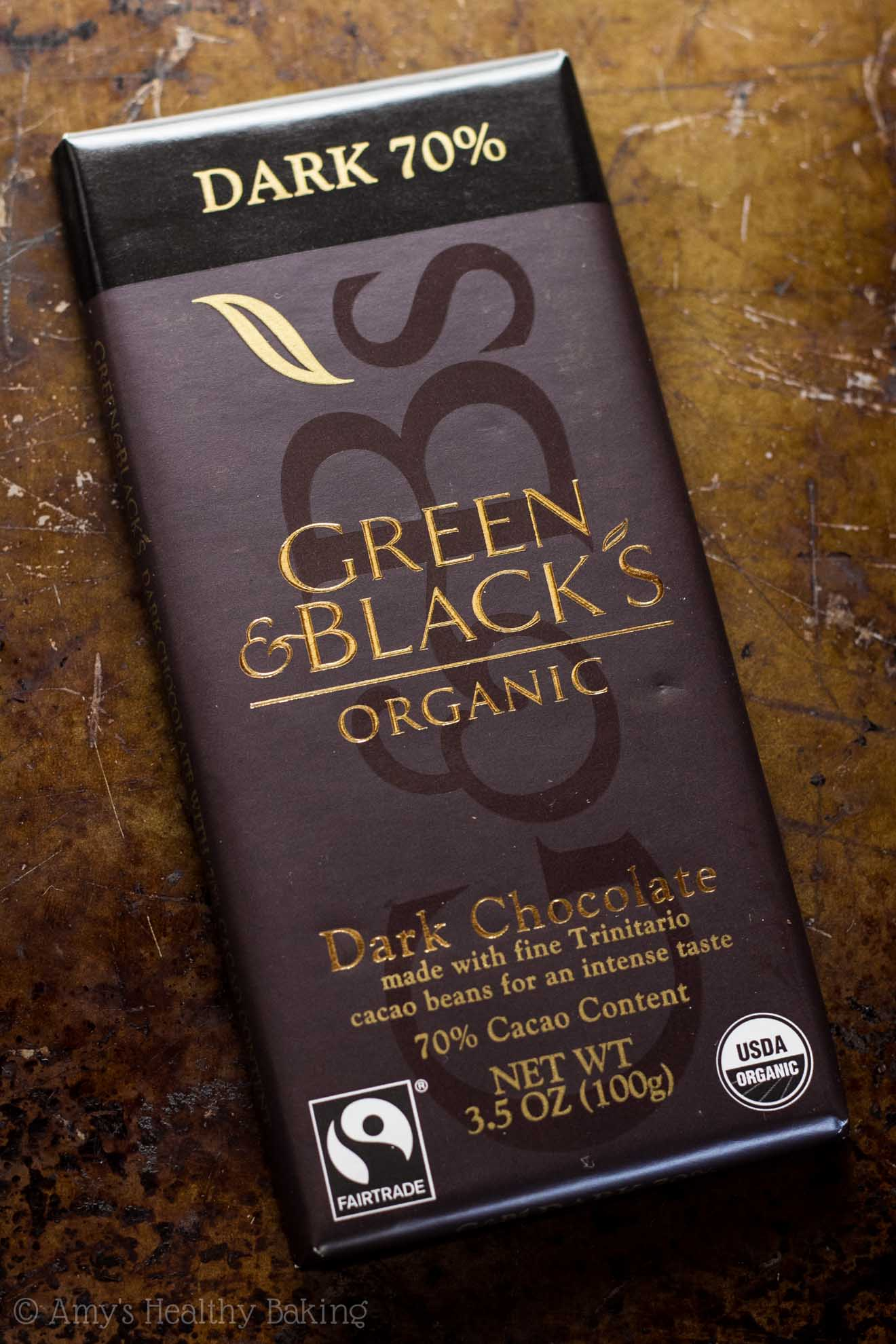 GREEN & BLACK'S ORGANIC 70% Dark Chocolate