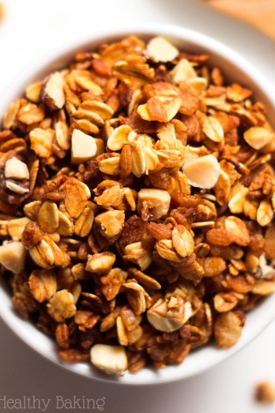 Healthy Honey Nut Granola