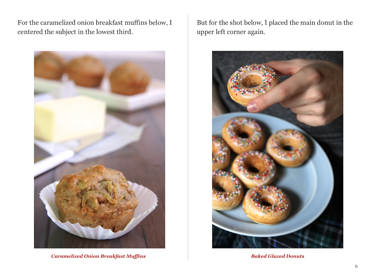 The Basics of Food Photography: Compositional Elements - Rule of Thirds Page