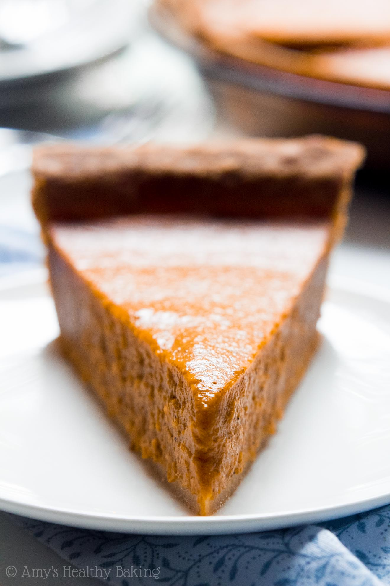 The Ultimate Healthy Pumpkin Pie | Amy\u0027s Healthy Baking