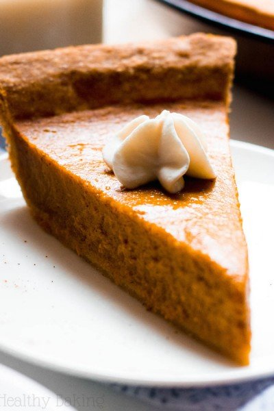 The Ultimate Healthy Pumpkin Pie