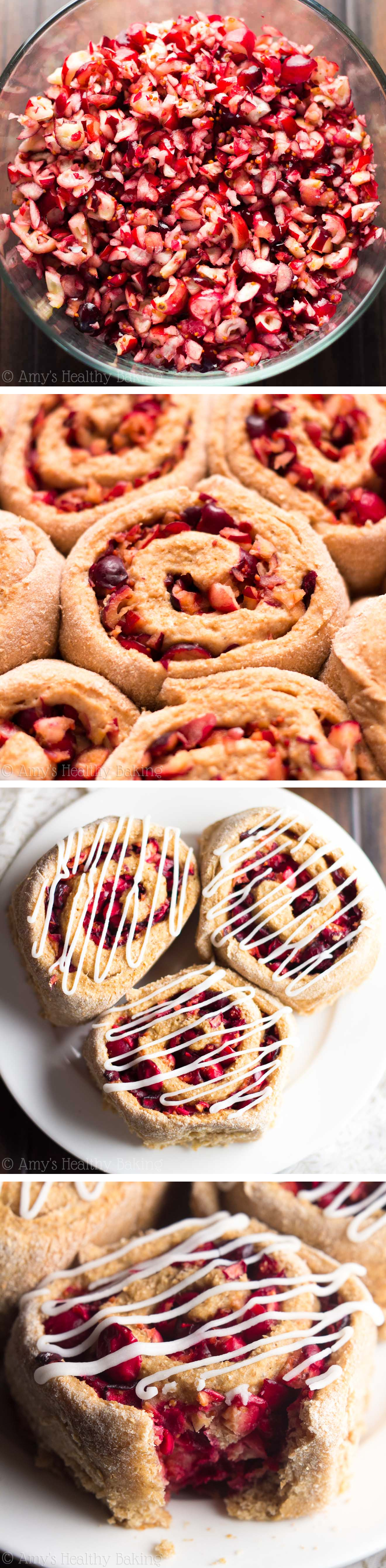These healthy pastries are so tender & perfect for holiday breakfasts! Plus a step-by-step VIDEO showing just how easy they are to make!