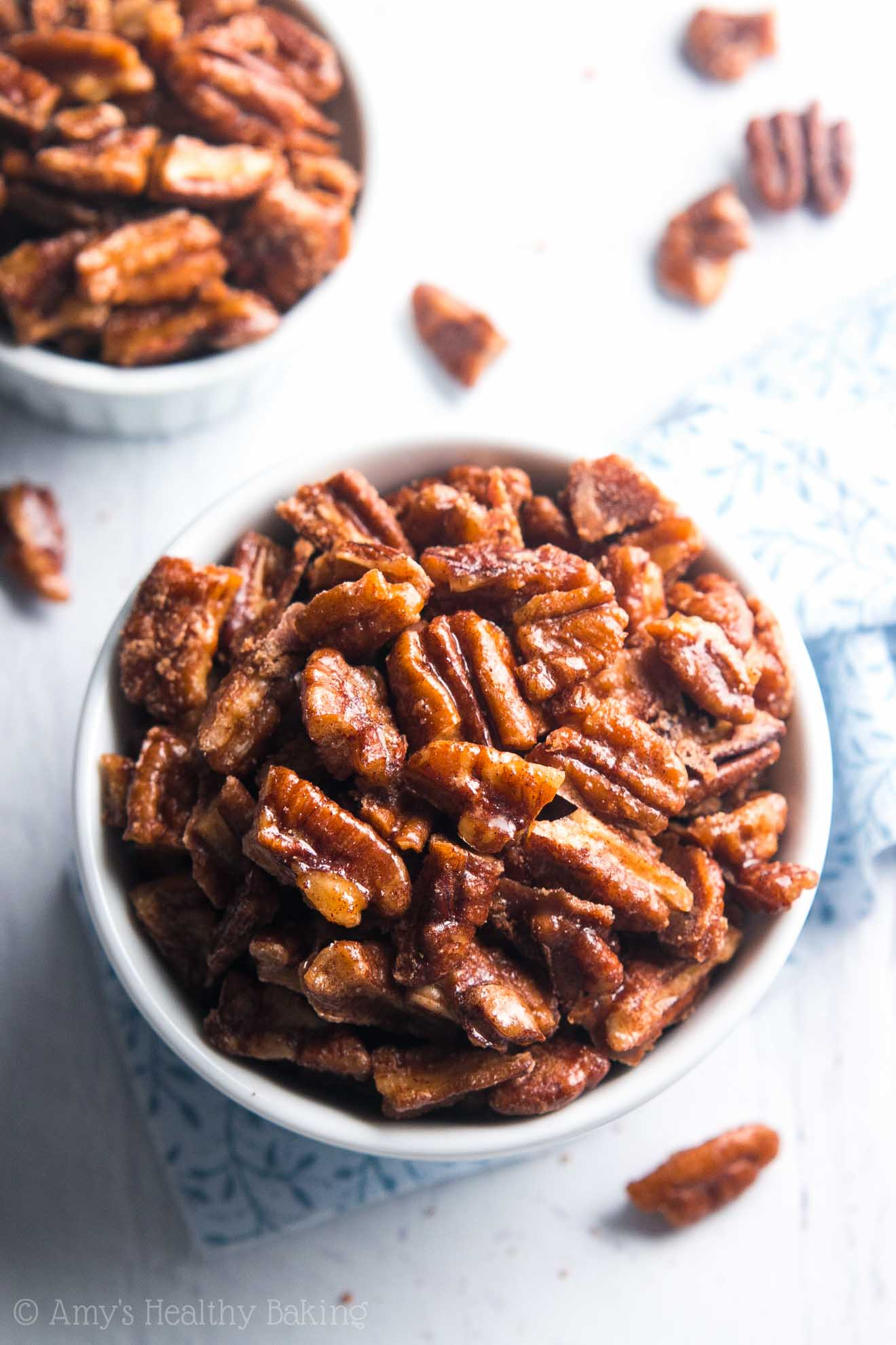 5 Minute Candied Pecans Amy S Healthy Baking