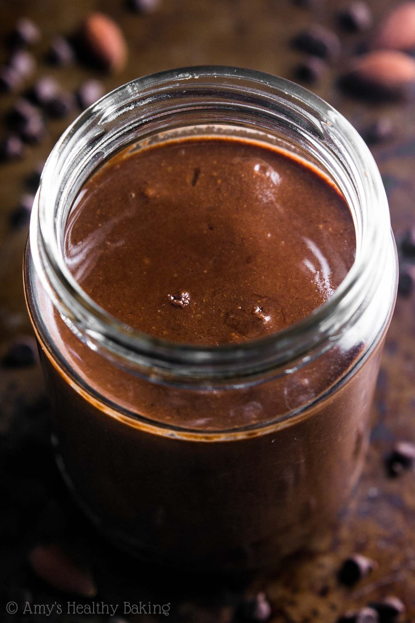 Healthy homemade almond butter that tastes like the candy bar! The recipe is SO easy. Just 5 ingredients + 15 minutes!