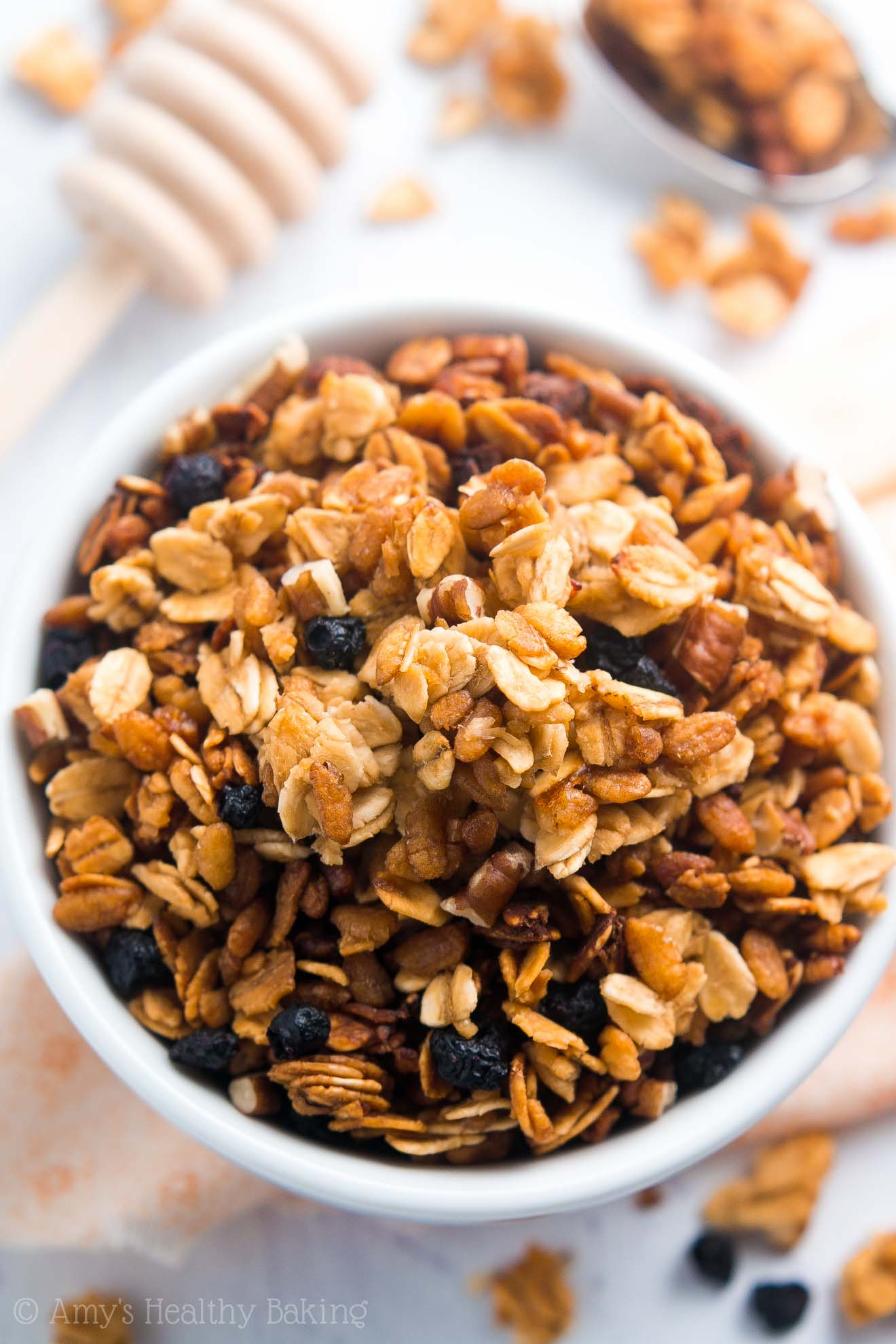 Healthy 5-Ingredient Slow Cooker Granola | Amy's Healthy ...
