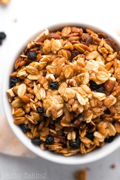 Healthy 5-Ingredient Slow Cooker Granola