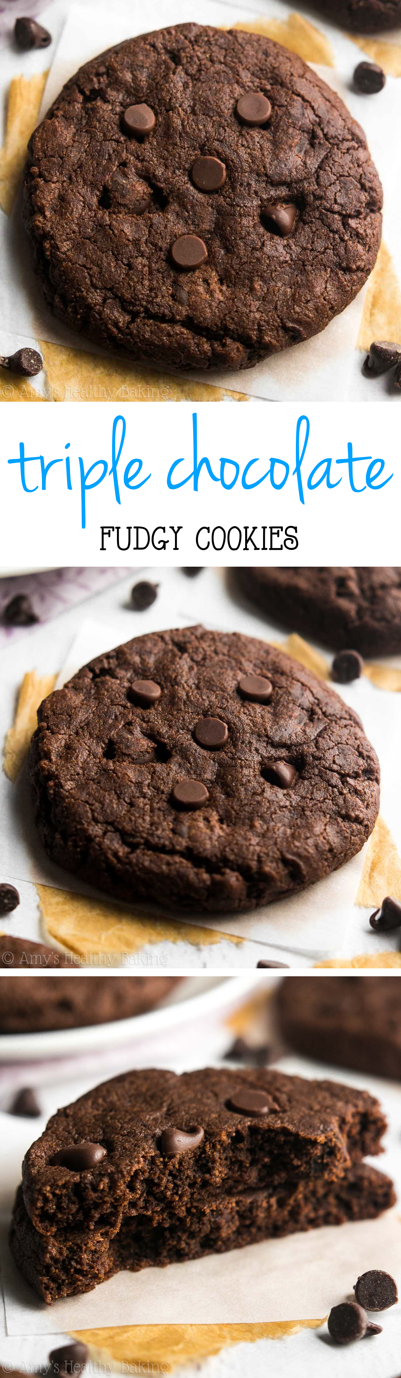 Rich, chewy & SO irresistible! They basically taste like fudgy brownies -- but they're skinny & virtually guilt-free!