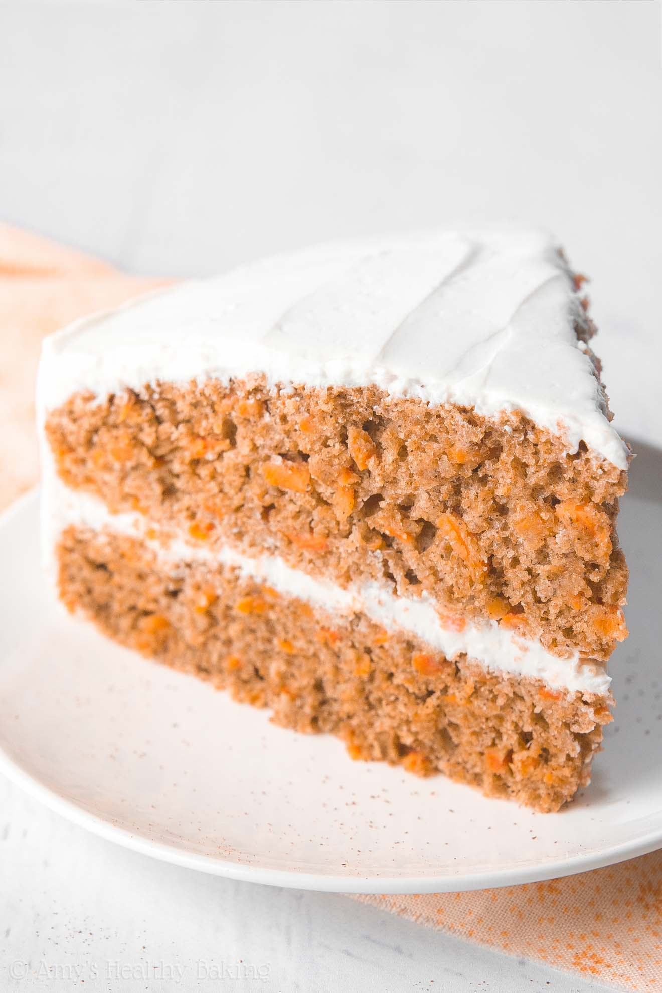 Healthy Low Fat Carrot Cake Recipe