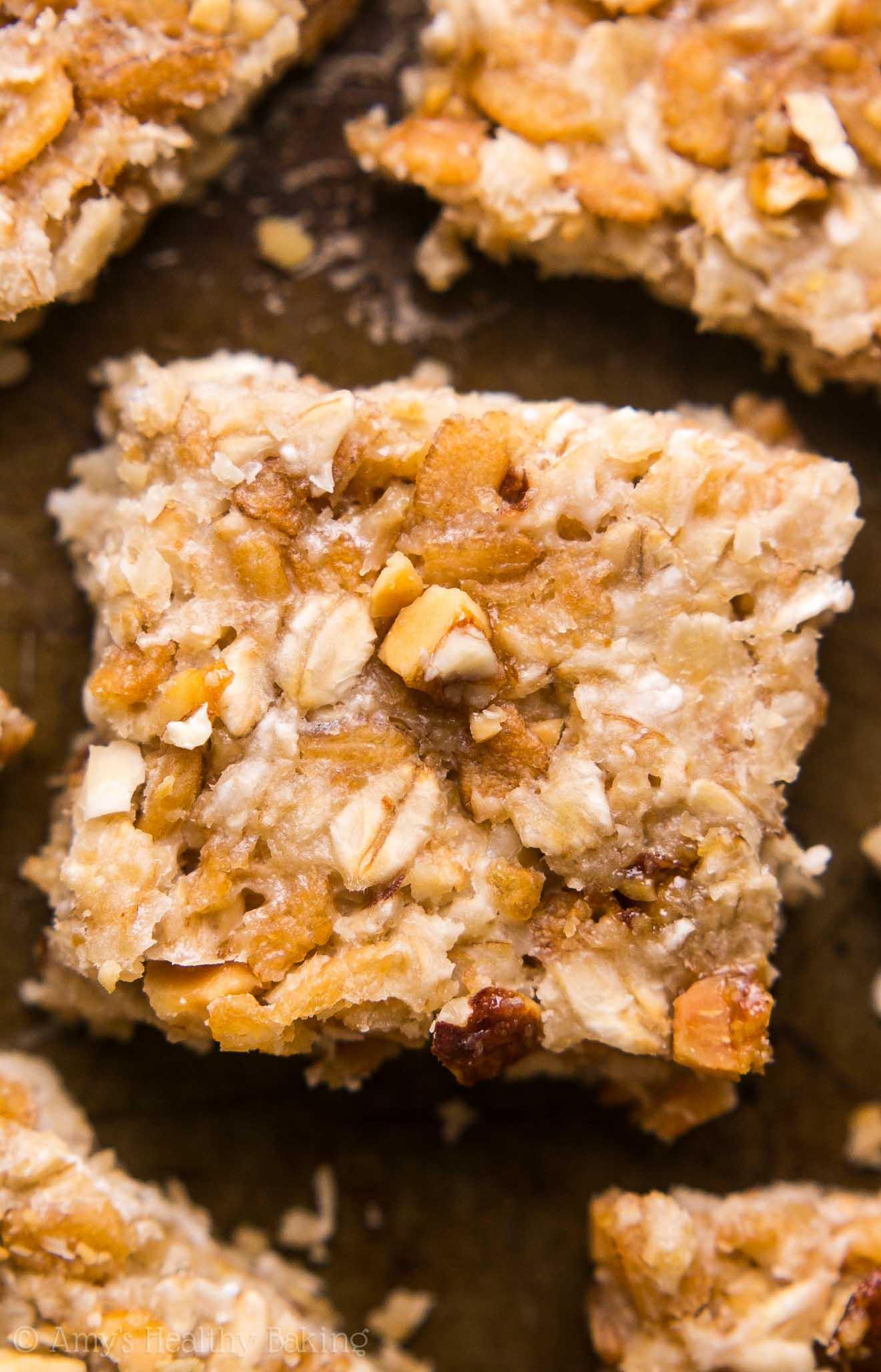 Banana Nut Granola Bar Bites Amy S Healthy Baking