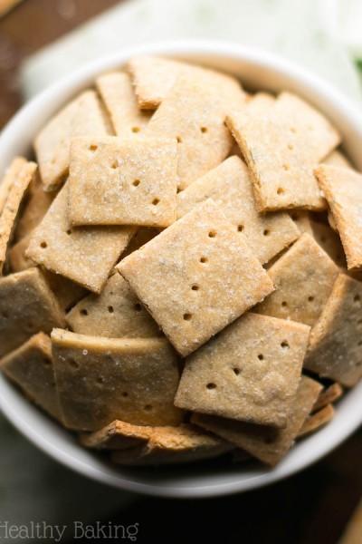 Simple Herbed Quinoa Crackers