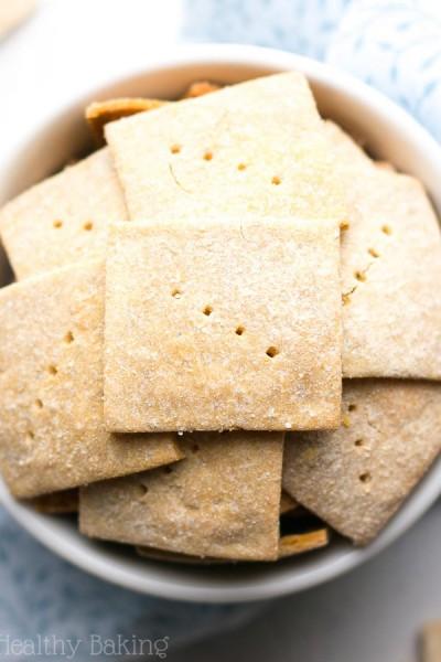 Simple Salt & Pepper Quinoa Crackers