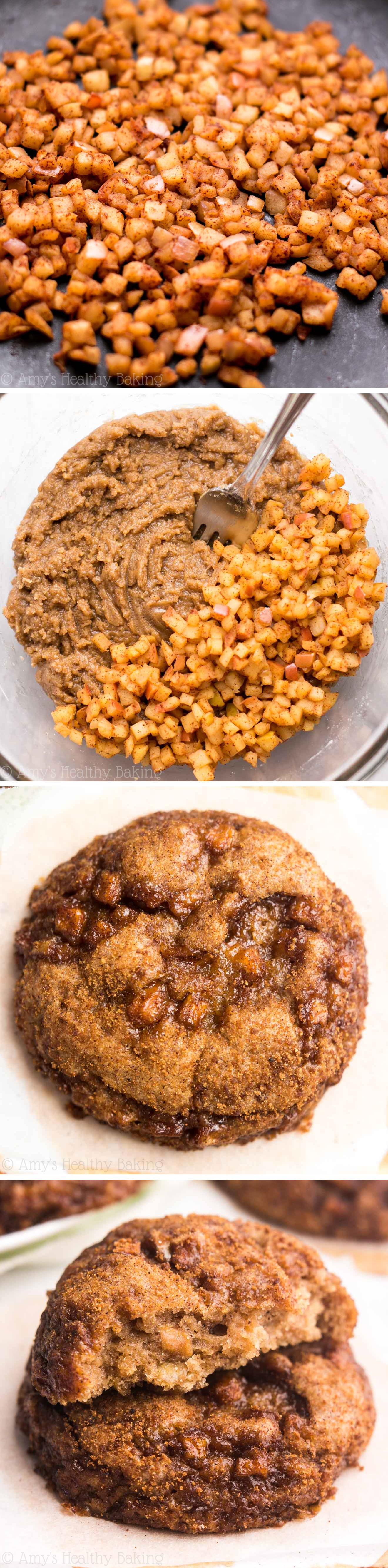 Apple Pie Snickerdoodles Amy S Healthy Baking