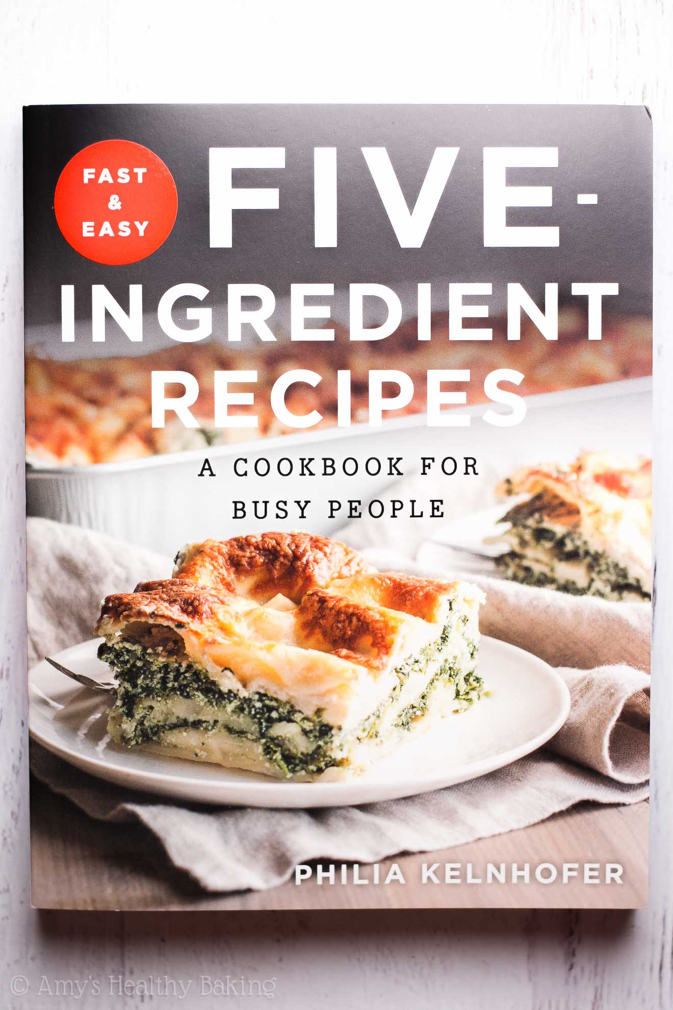 Fast and Easy Five-Ingredient Recipes: A Cookbook for Busy People by @sweetphi