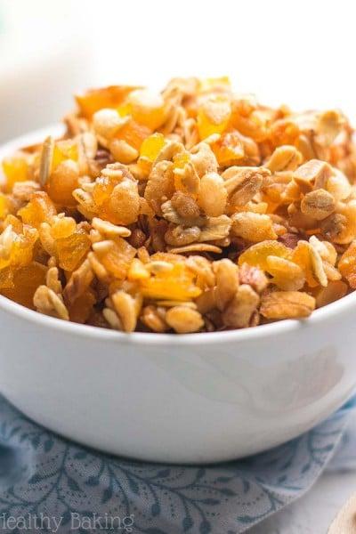 Healthy 5-Ingredient Trail Mix Granola