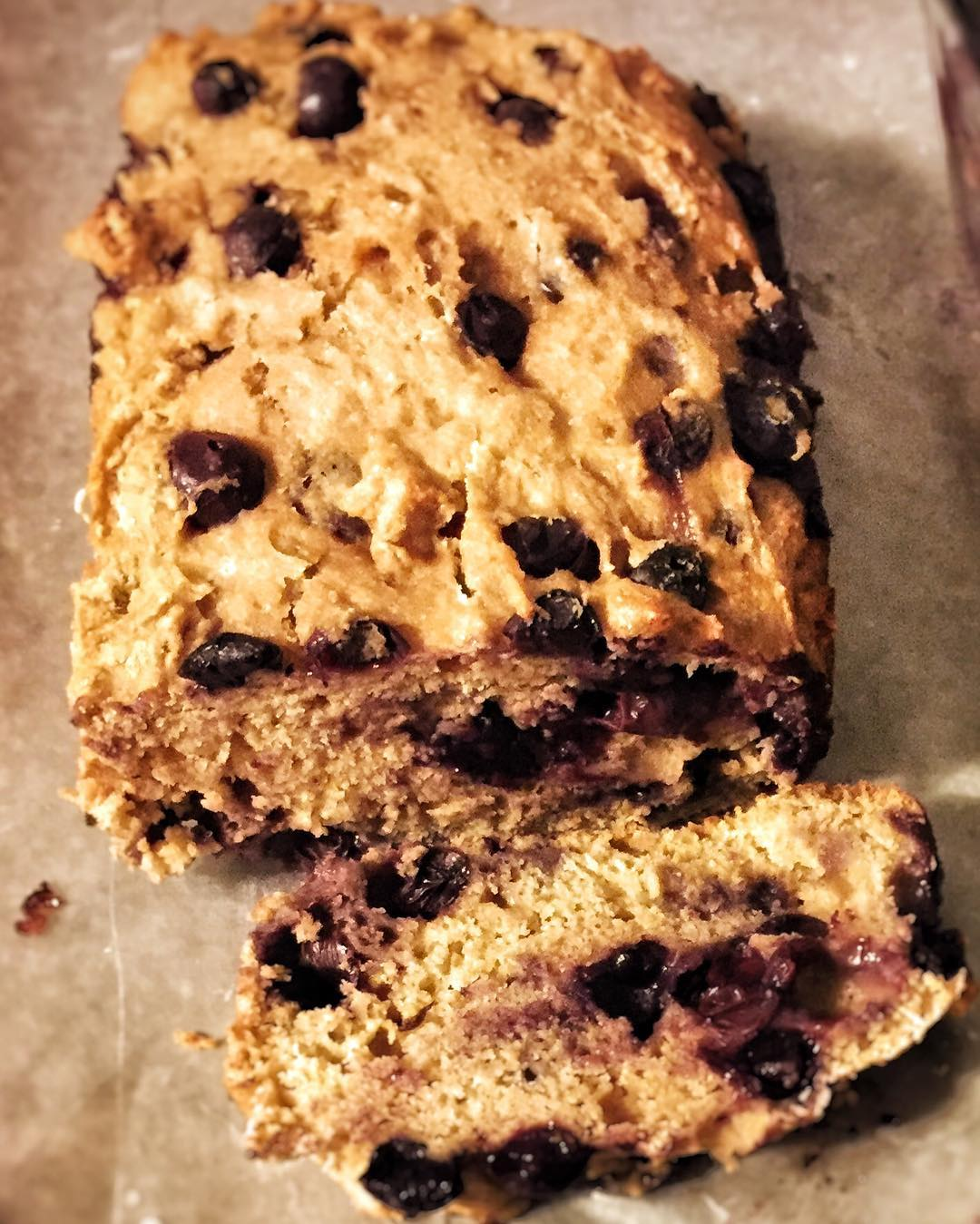 Lemon Blueberry Breakfast Loaf | @millerd13