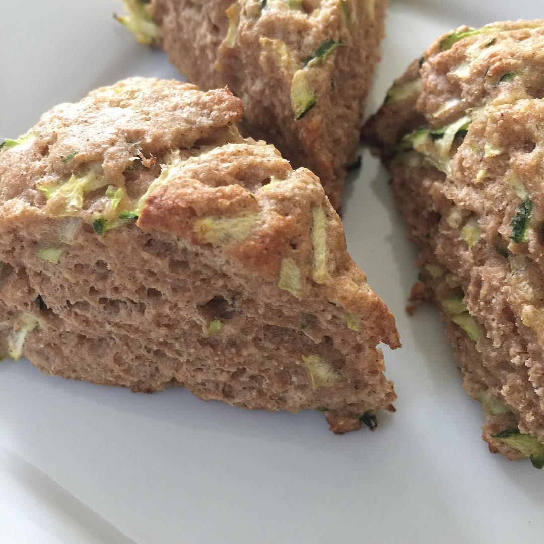 Clean Zucchini Bread Scones | @imsaraho