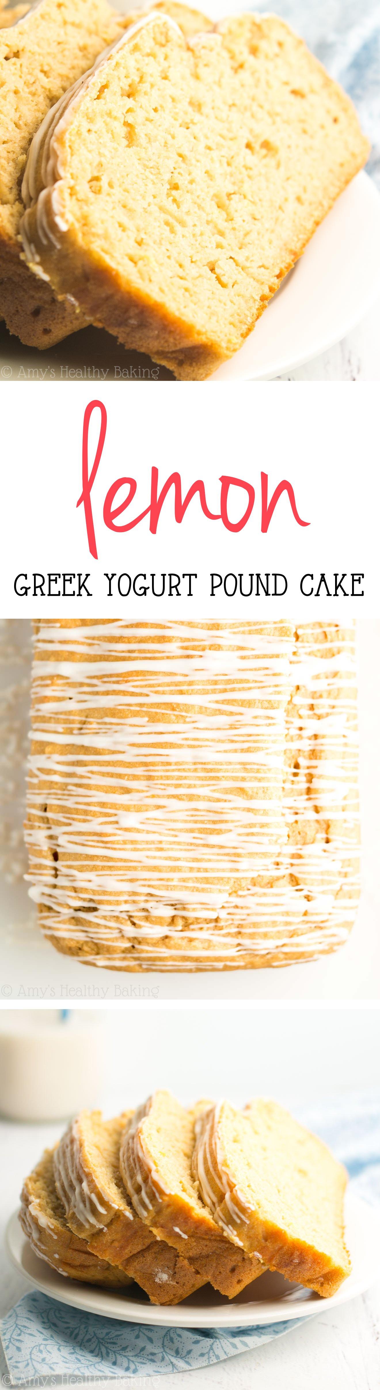 Yogurt Pound Cake Low Fat