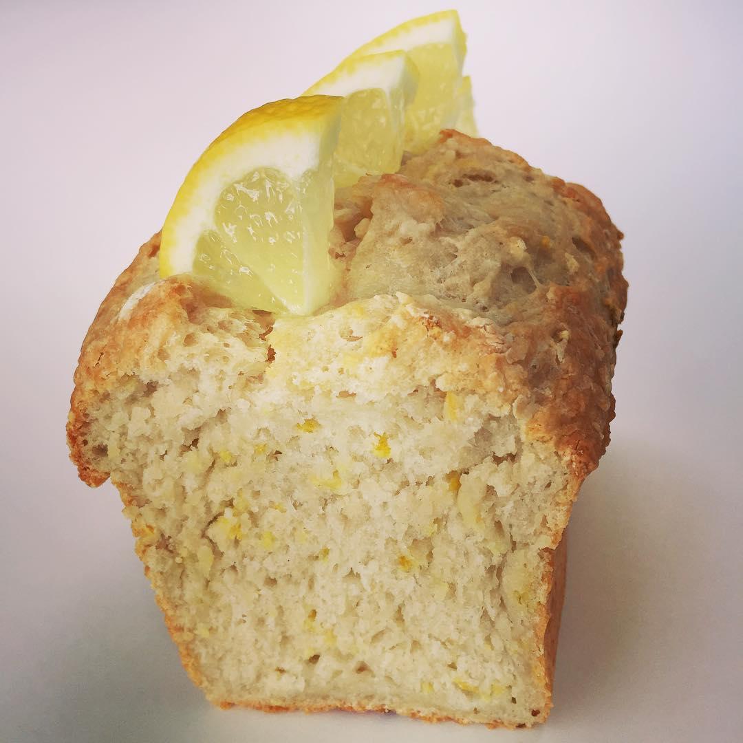 Greek Yogurt Lemon Pound Cake | @sweets_by_kiki