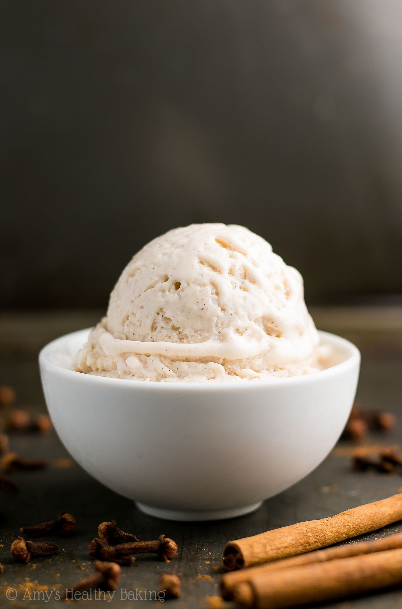 25-Minute Healthy Chai Spice Ice Cream | Amy's Healthy Baking