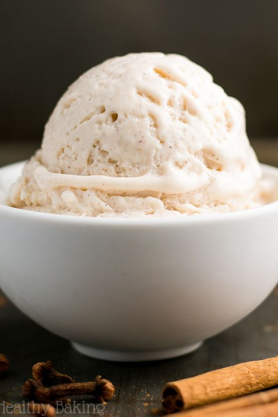 25-Minute Healthy Chai Spice Ice Cream