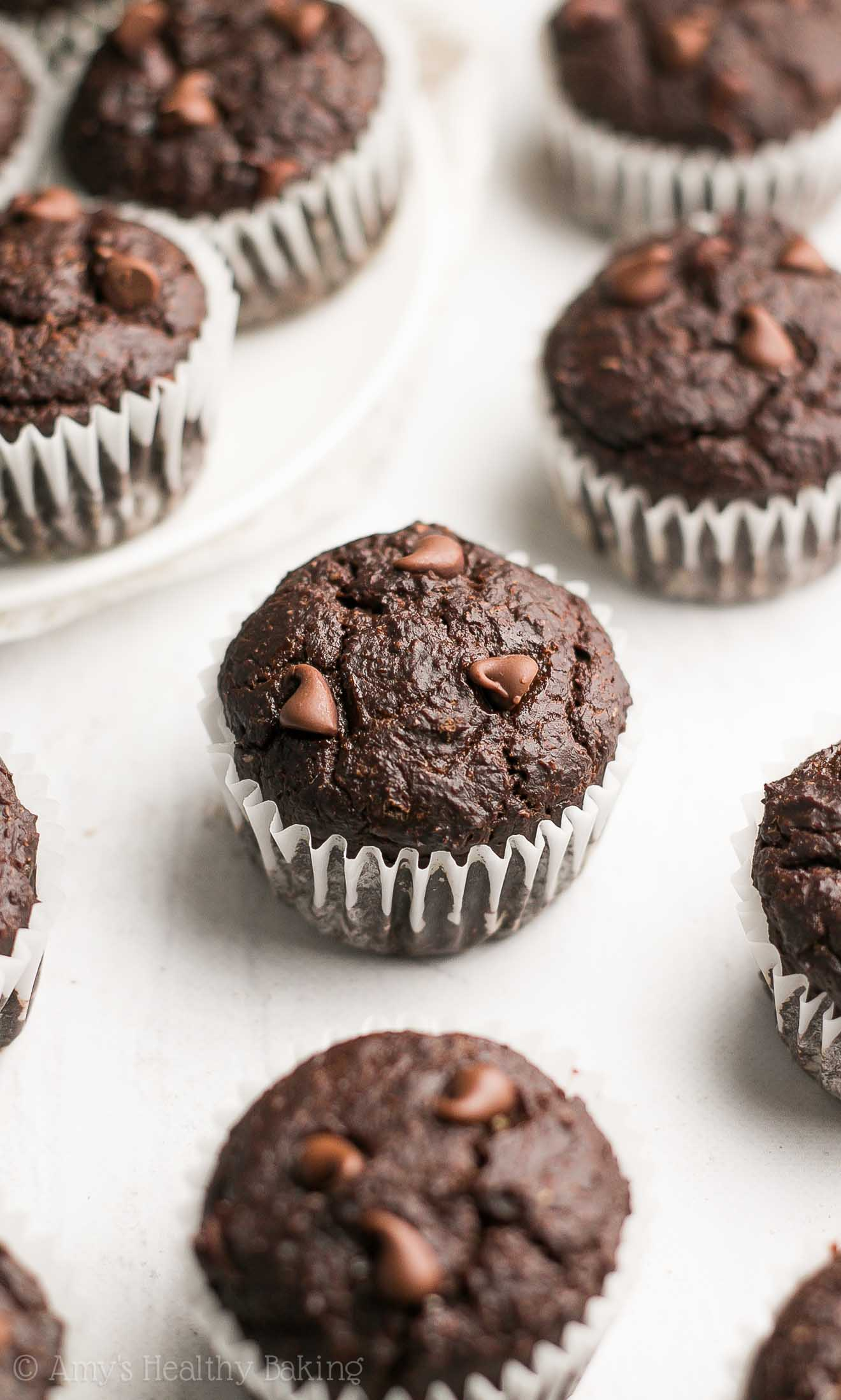 Baking Chocolate Brownie Muffins