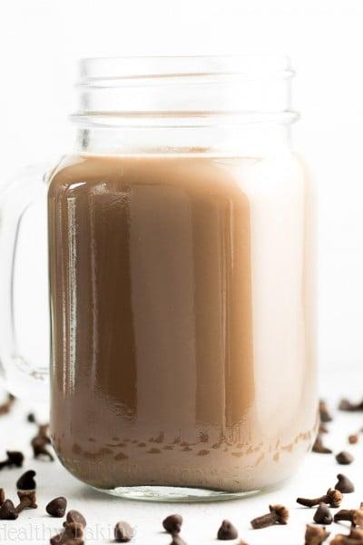 Skinny Chocolate Chai Latte