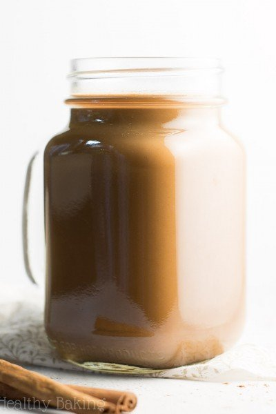 The Ultimate Healthy Chocolate Pumpkin Spice Latte