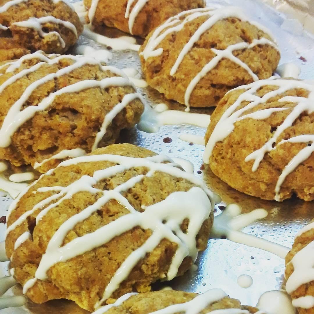 clean maple pumpkin scones | @jessatilford