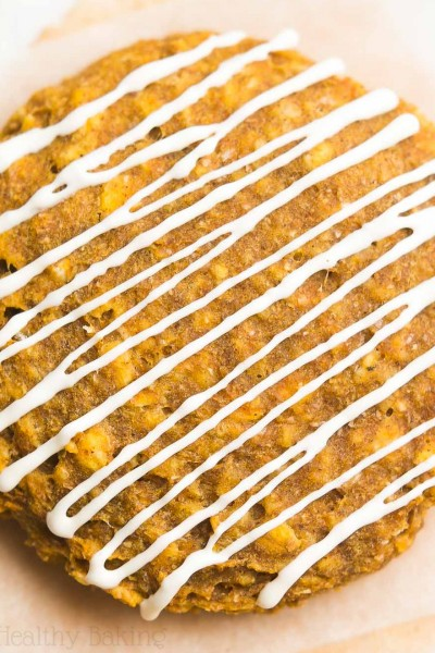 Pumpkin Cheesecake Oatmeal Cookies