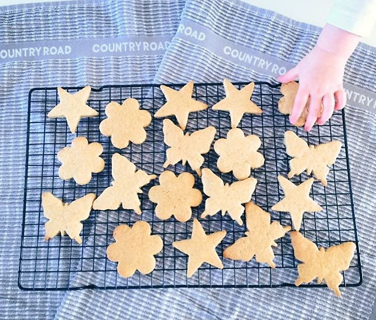 the ultimate healthy cut-out sugar cookies | @oh.my.mumma