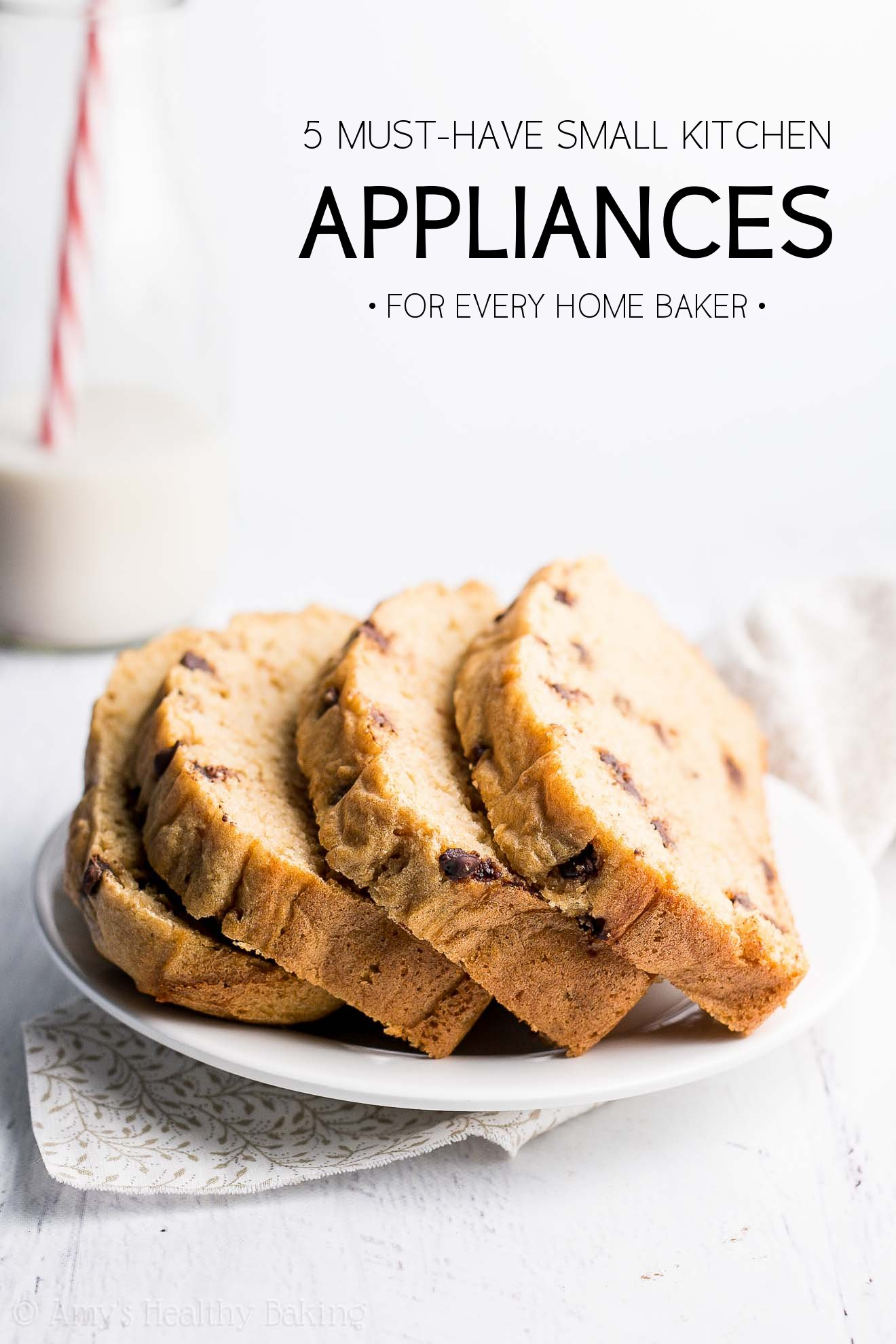 5 Must-Have Kitchen Appliances for Healthy Baking -- plus 60 incredible recipes to make with them! How many of them do you own??