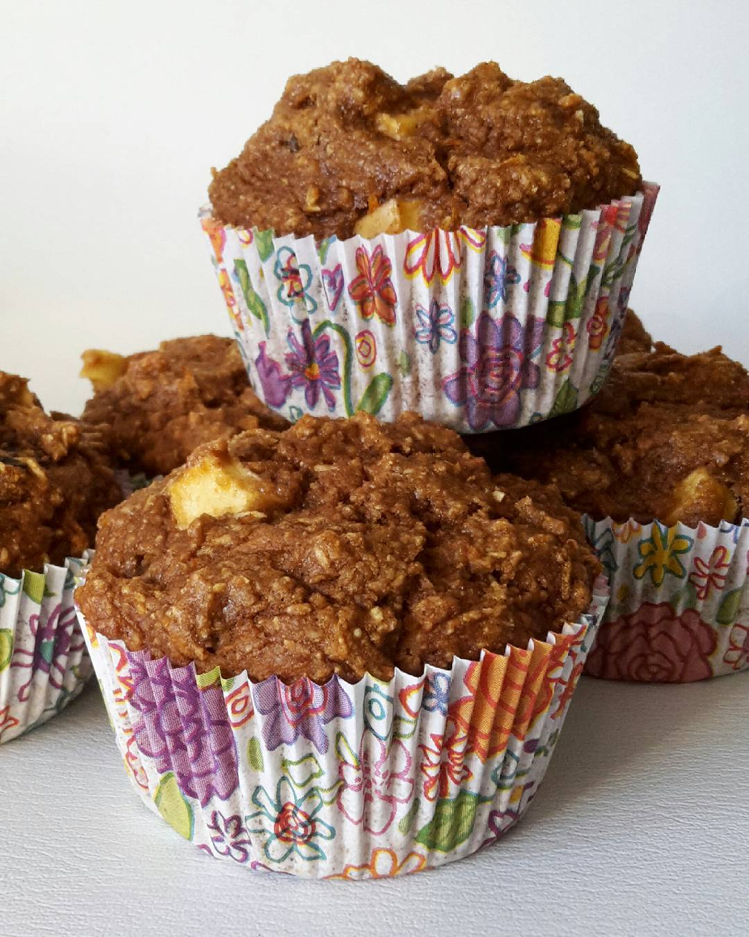 morning glory bran muffins by @claras_keksfabrik