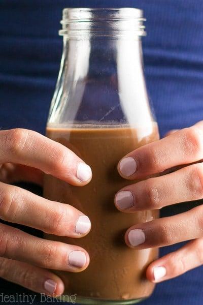 Skinny Dark Chocolate Peppermint Coffee Creamer