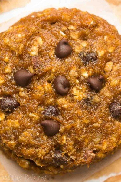 Pumpkin Cowboy Cookies