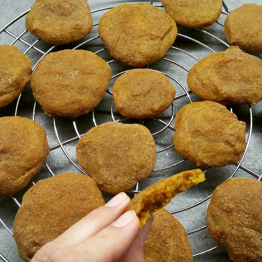 pumpkin pie snickerdoodles by @payapon27