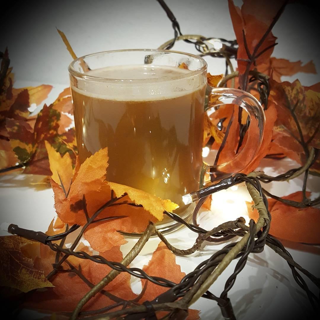 skinny pumpkin spice coffee creamer by @fitgirl_flameprincess