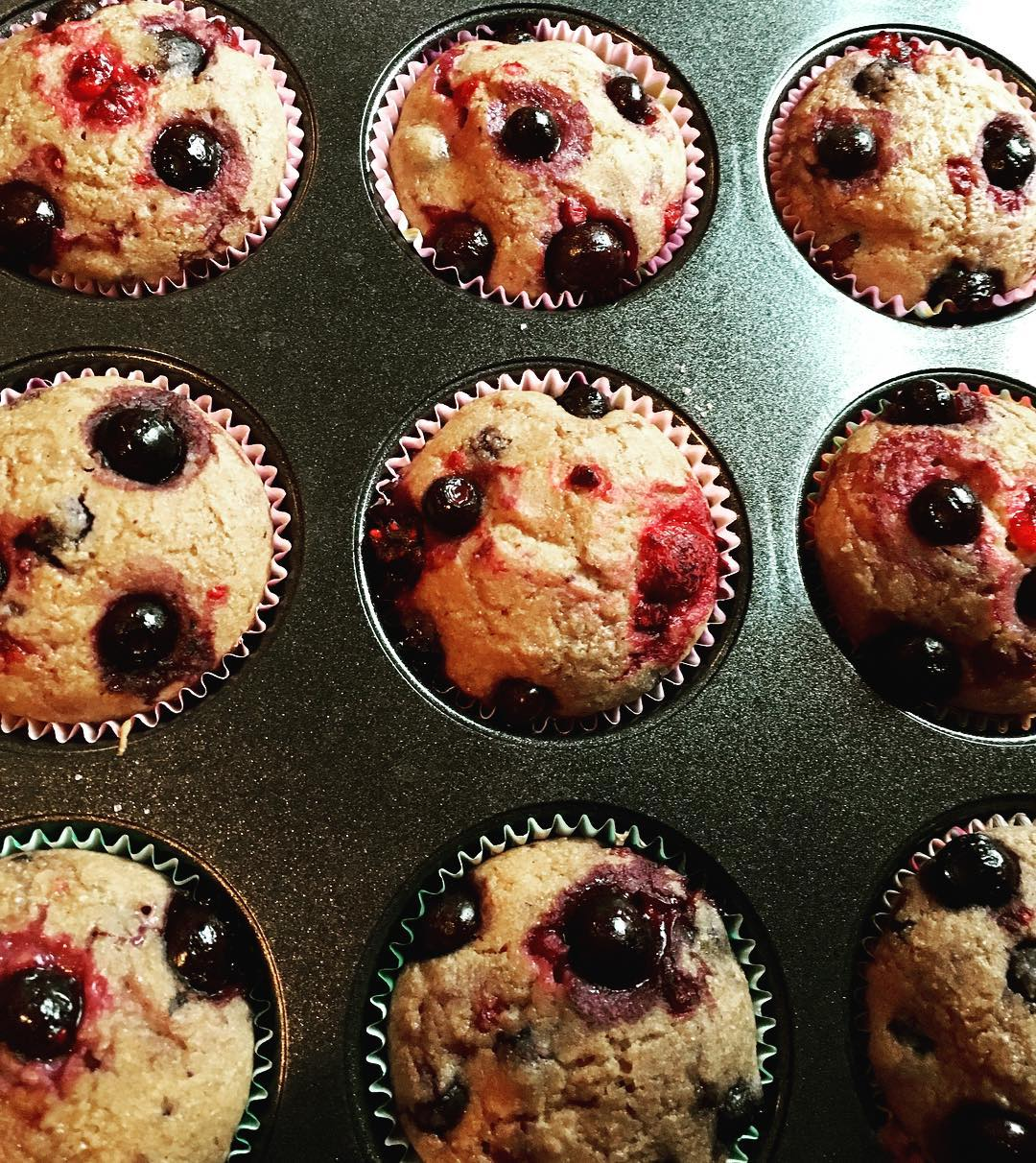 the ultimate healthy blueberry muffins by @meg_nohe