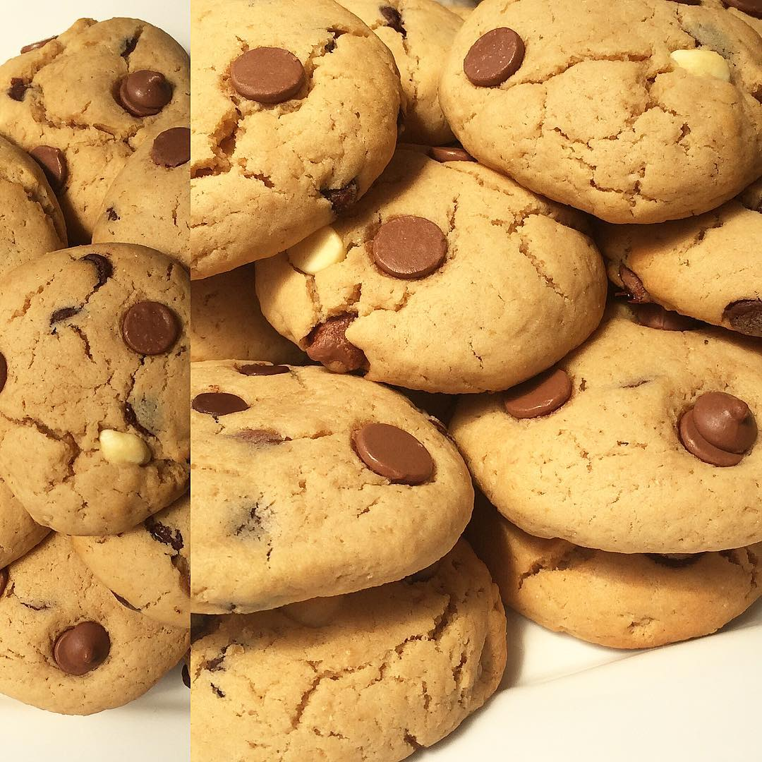 the ultimate healthy soft & chewy chocolate chip cookies by @darcey_clark
