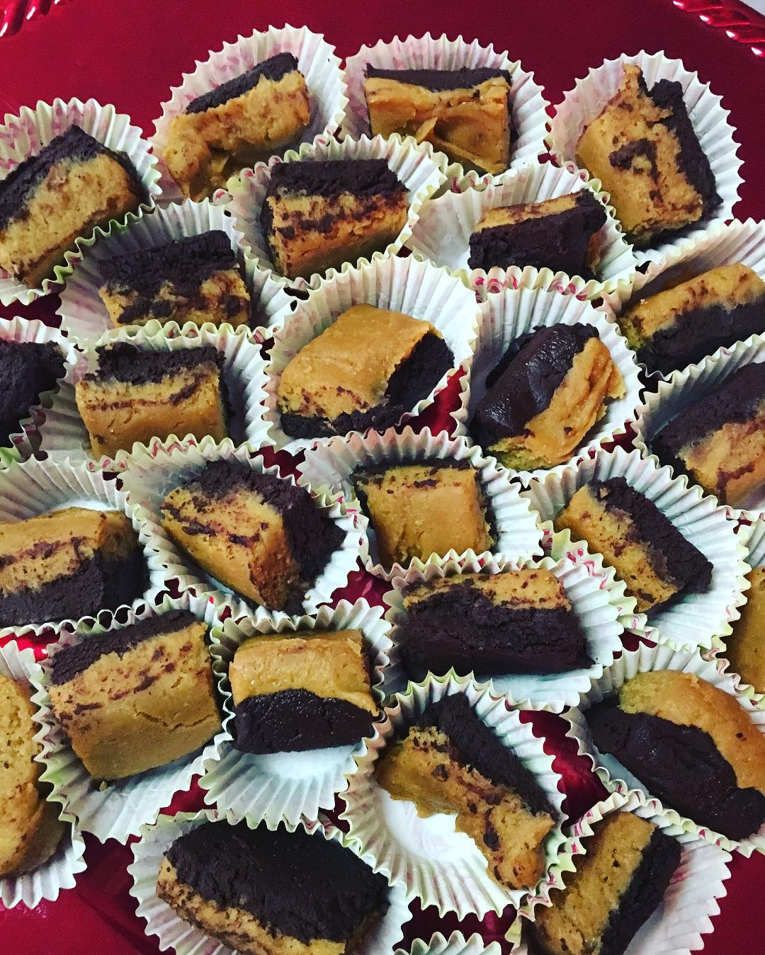 10-minute buckeye fudge by @fit_fiesty_foodlovingmama